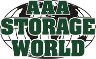 AAA Storage World Logo. Make A Payment